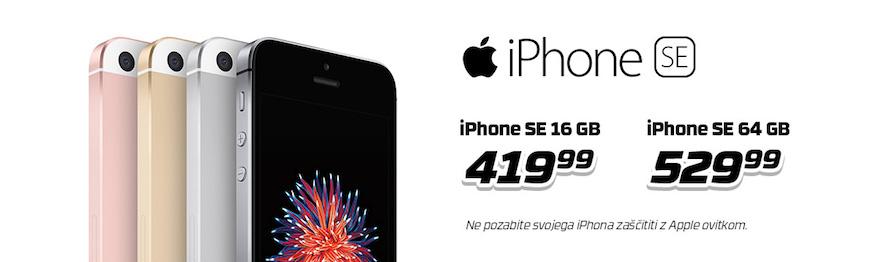 apple iphone SE v akciji