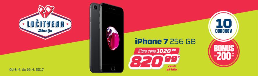 iPhone 7 z dvojnim prihrankom.