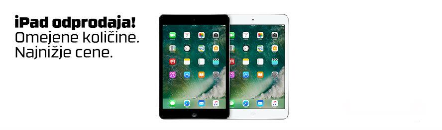 Odprodaja izdelkov Apple iPad