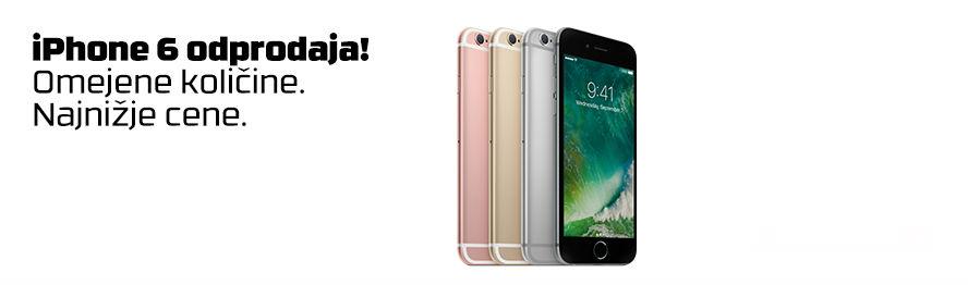 Odprodaja iPhoneov